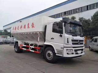 陕汽轩德20m³散装饲料运输车