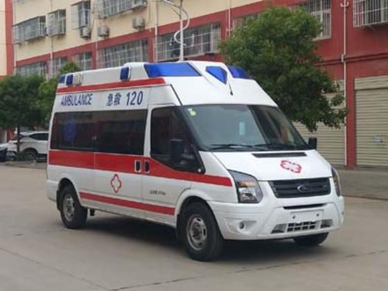 福特新世代监护型救护车图片