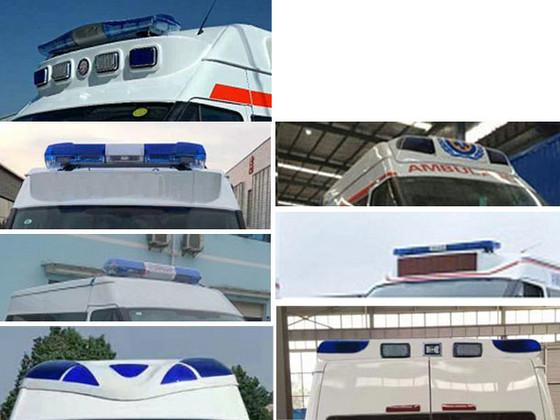 福特新世代监护型救护车