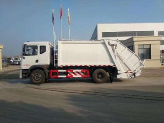 国六8吨天然气压缩式垃圾车