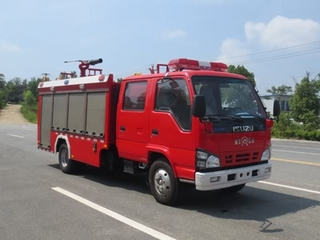五十铃国六泡沫消防车