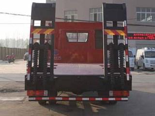 解放J6单桥平板运输车图片