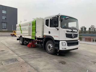 东风新能源10吨纯电动洗扫车
