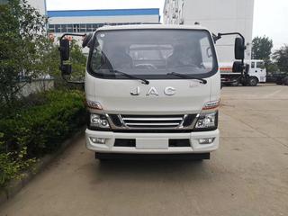江淮国六骏铃V6餐厨垃圾车