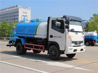 國六時風藍牌5噸6噸7噸灑水車圖片